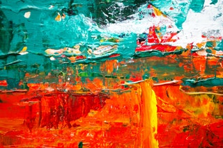 Festmény készítése akril festékkel
